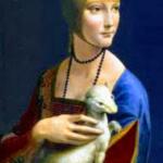 Dame à Hermine - Leonard de Vinci