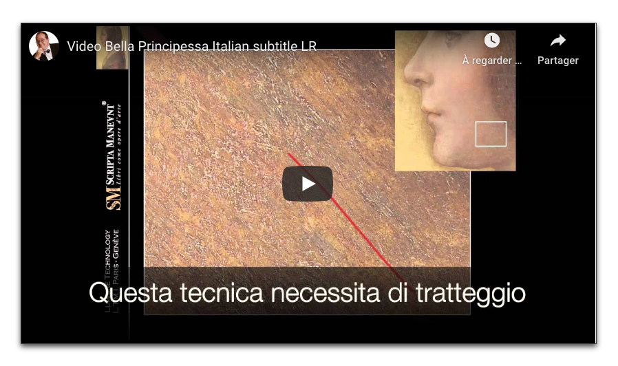 Video Bella Principessa Italian subtitle LR