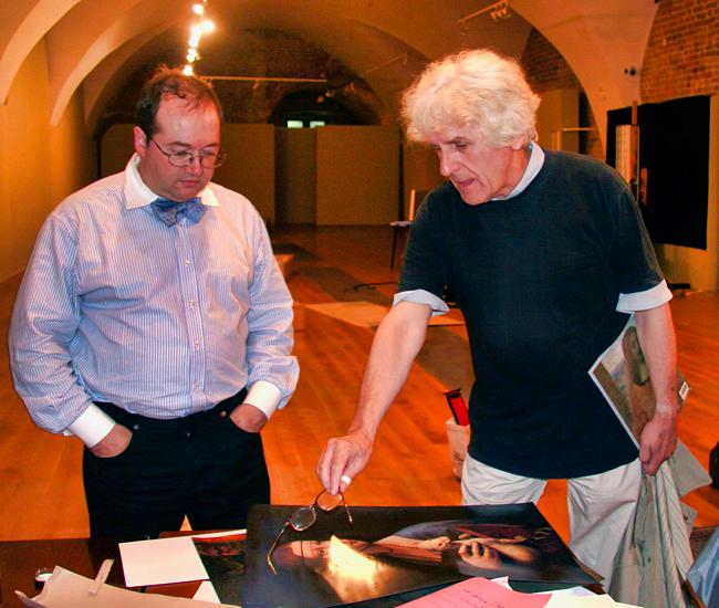 La Dame à Hermine avec Pascal Cotte et Dr Walek