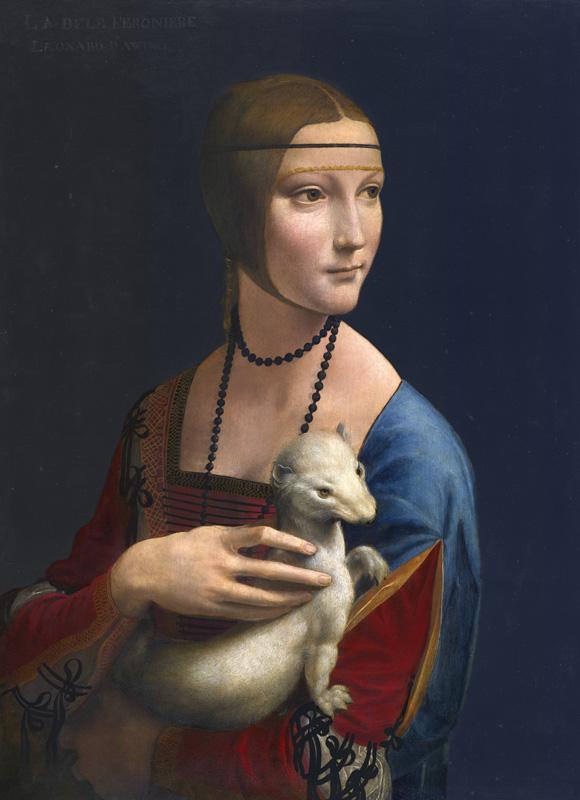 La Dame à l'Hermine